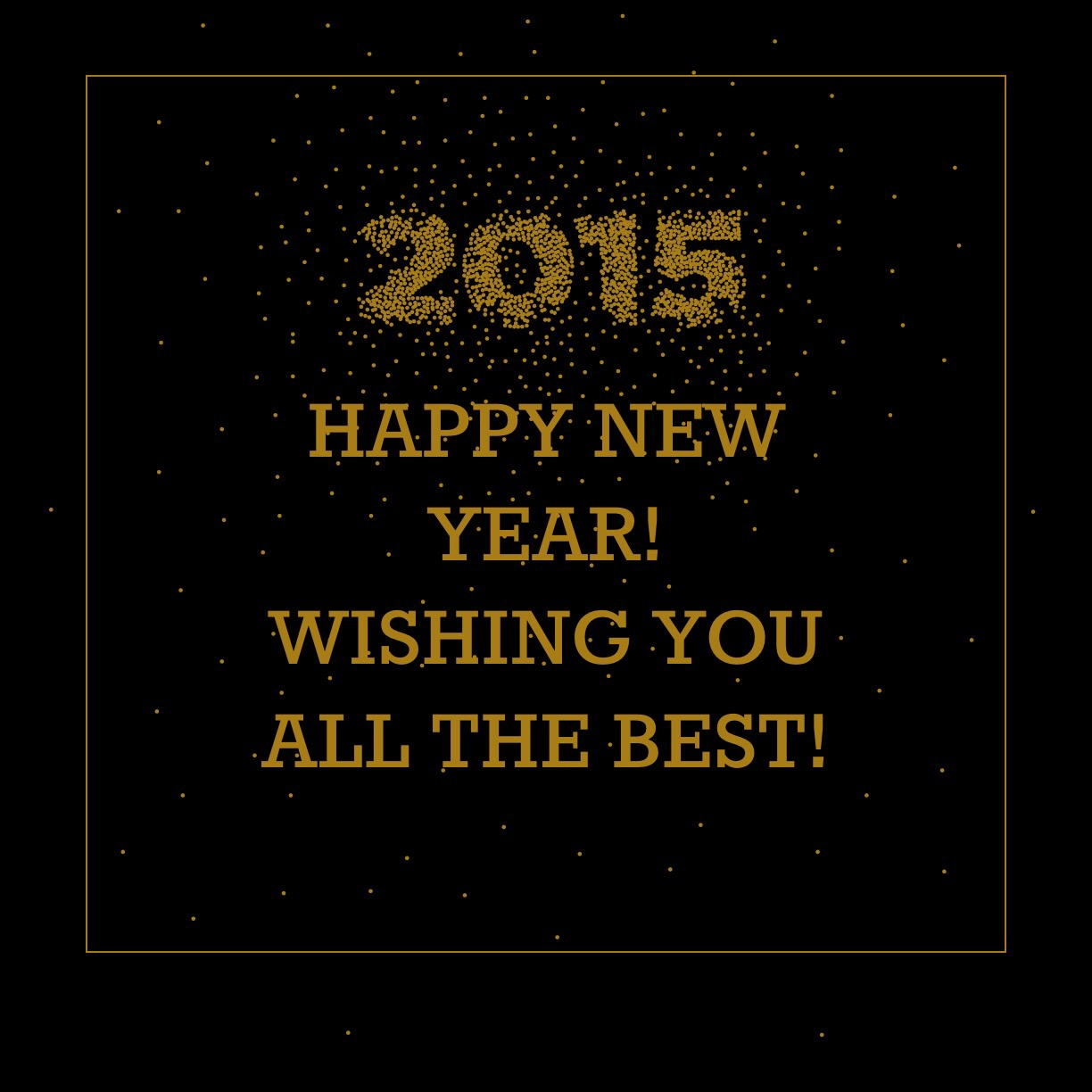 All my best wishes for 2015!!