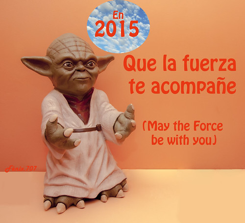 AtmosferaCine - Yoda - Star Wars- La guerra de las galaxias - Que la fuerza te acompañe - May the Force be with you