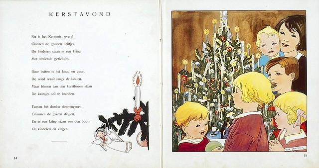 020-Mes de Diciembre dibujos y poemas de Rie Cramer