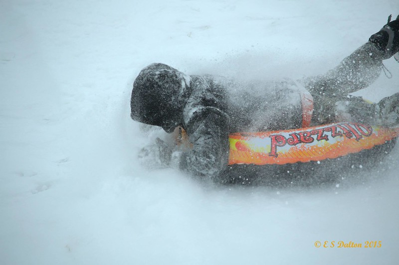 Snow early in the month allowed plenty of fun opportunities for kids in Thornton. (Ed Dalton)
