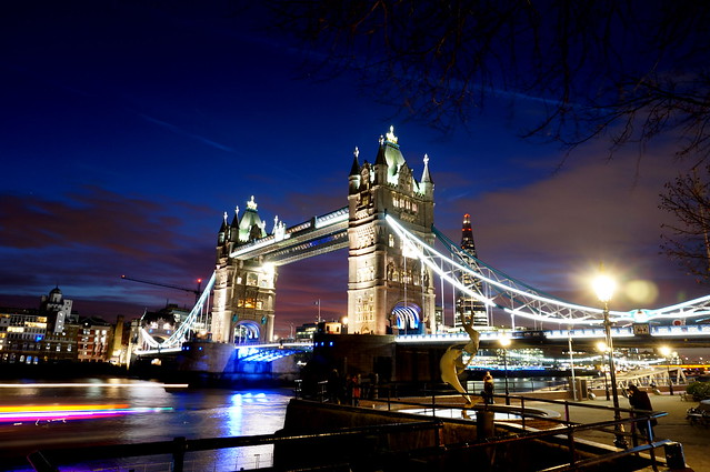 Tower Bridge in the twilight