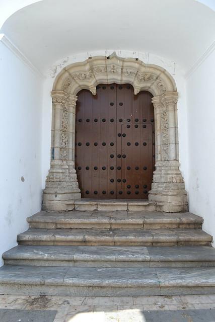 Puerta manuelina de la Iglesia de la Magdalena