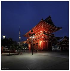 Sensō-ji in Asakusa, Tokyo (290616)
