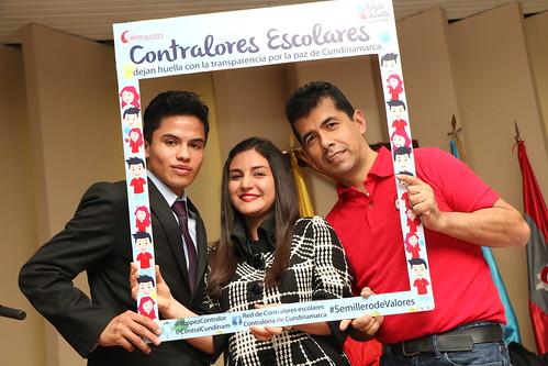 Posesión Contralores Escolares de Cundinamarca - 2016