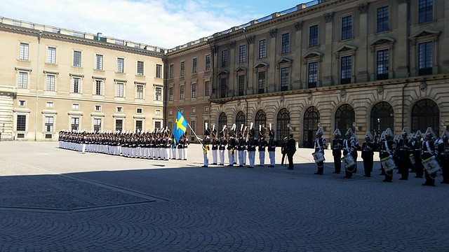 The Palace in Stockholm, Sweden