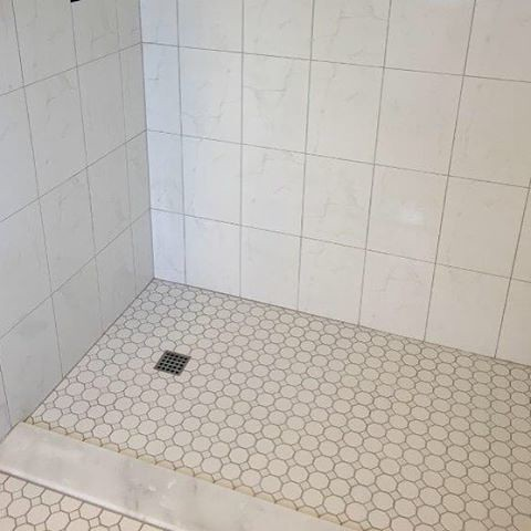 Finished The Sun City Center Florida No Curbwalk In Shower 10x13