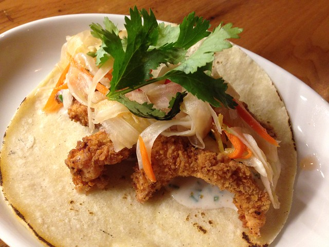 Fried chicken taco - Tico