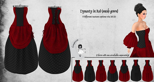 Dynasty_Red (Mesh Gown) ad