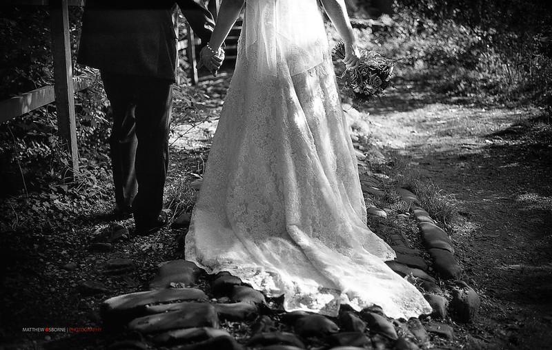 Leica M3 B&W Film Wedding