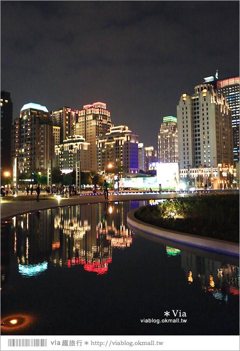 【大都會歌劇院】台中國家歌劇院~夜間水舞篇。光舞紀/光影藝術節7