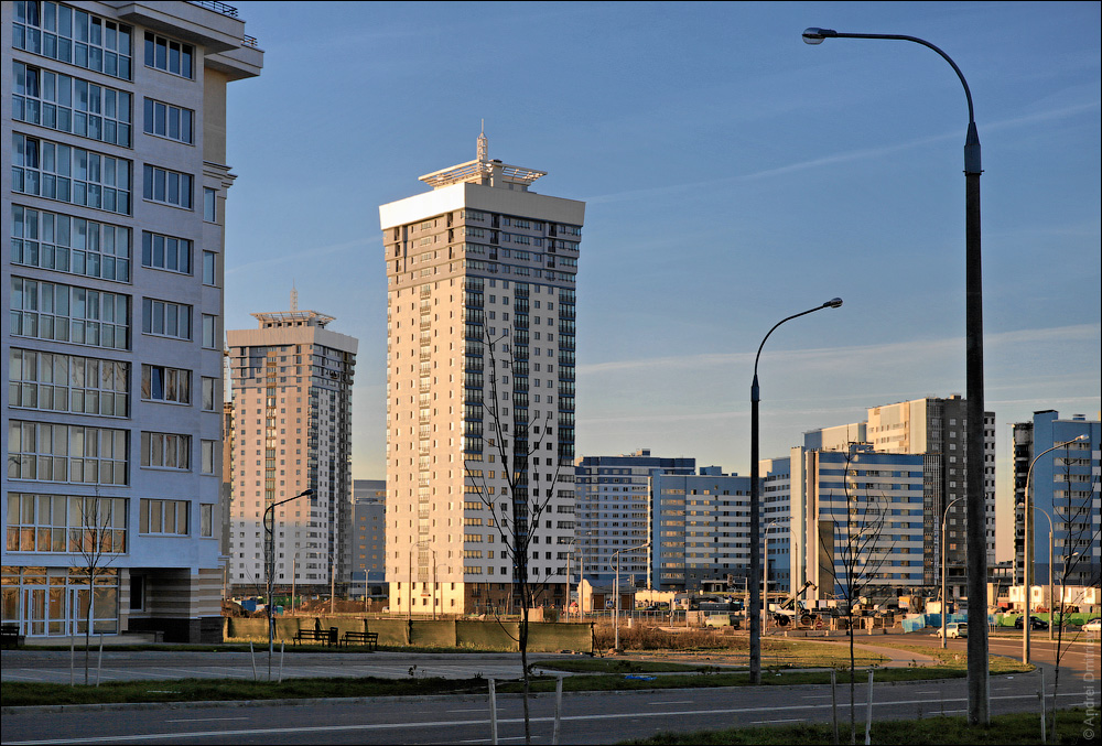Новостройки в районе проспекта Победителей