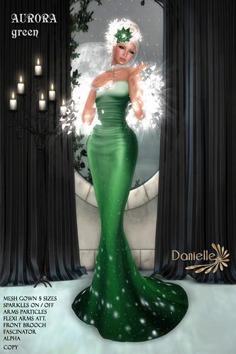 DANIELLE Aurora Green