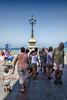 Chipiona, el bullicio y la Cruz del Mar