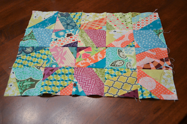 Scraptastic placemat top