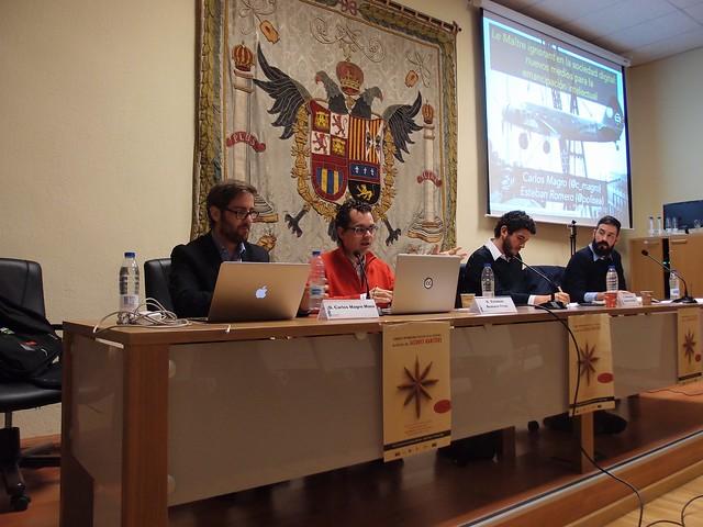 Esteban Romero y Carlos Magro en la UGR