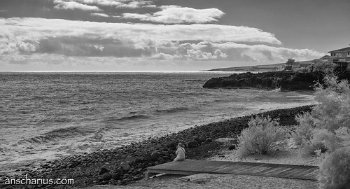 Candelaria Beach - Nikon 1 V1 Infrared 700nm & 10-100mm CX Lens