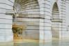 Architectural Edifice with Fountain