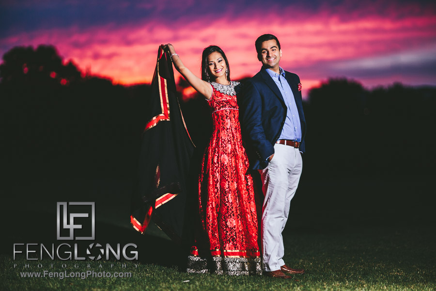Atlanta Ismaili Indian Engagement Session Piedmont Park