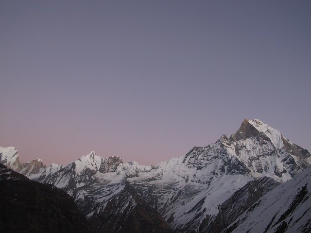 Annapurna Sanctuary Trek: Day 9 MBC to ABCM