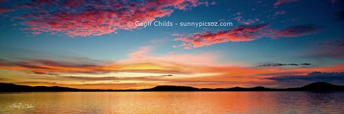 Sunrise Seascape. Art photo digital download and wallpaper screensaver.
