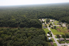 VIDEO: Flying over Great Dismal Swamp National Wildlife Refuge, where 22 water control structures will be installed or repaired in Virginia.