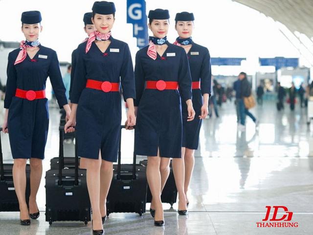 Đồng phục tiếp viên hàng không các nước, hãng ĐẸP nhất 14
