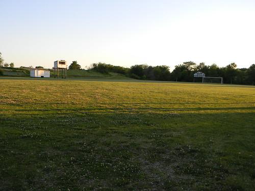 school abandoned field football high iowa colfax mingo