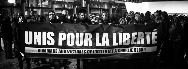 Evry Daily Photo - Rassemblement Mairie Evry - Je suis Charlie