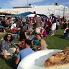 Oh, hello, pie! Such a perfect day at the Pie Social in Downtown Phoenix. #dtphx #dreamy #sunshine #community #rooseveltrow
