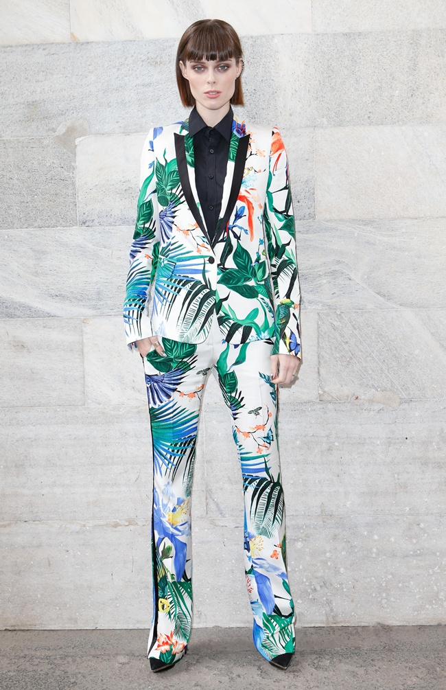 7 Coco Rocha in Roberto Cavalli @ RC Womenswear SS15 Fashion Show 2014-09-20 Milan
