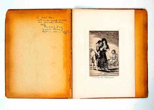 Opening pages with inscription of Bound Folio from The National Arts Club's Permanent Collection_Photo credit Andrew Werner