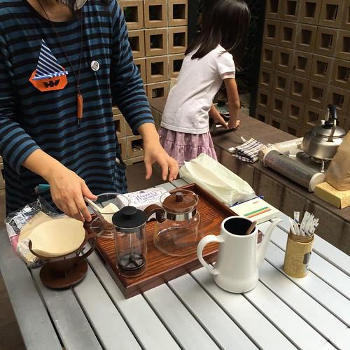手作りコーヒー