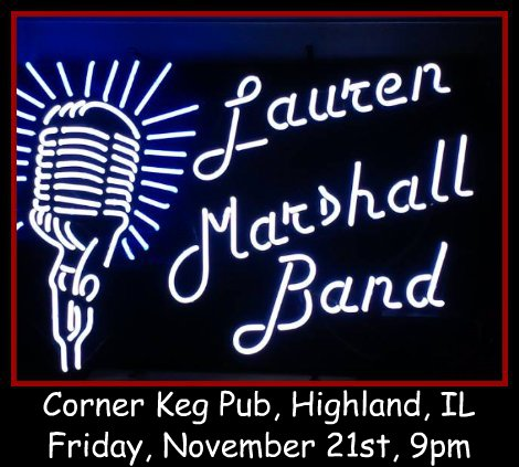 Lauren Marshall Band 11-21-14