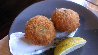 Paella Fritters at Smith & Daughters