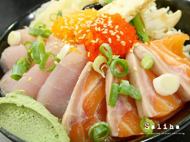 金鰭生魚片丼 (8)