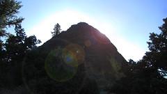 Climbing Pilot Rock