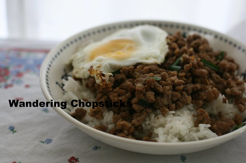 Taiwanese Minced Pork Rice 9