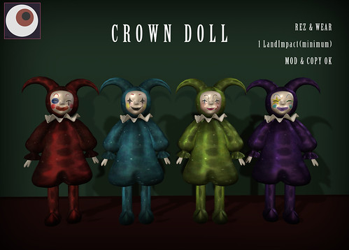 *N*CROWN DOLL