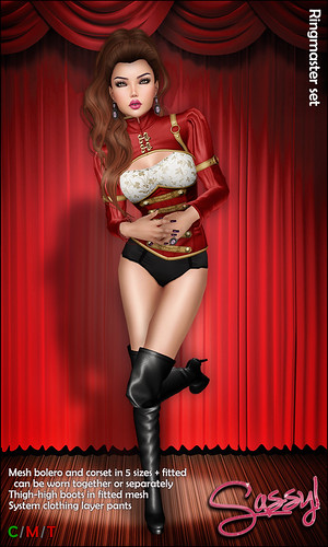 Ringmaster set in red