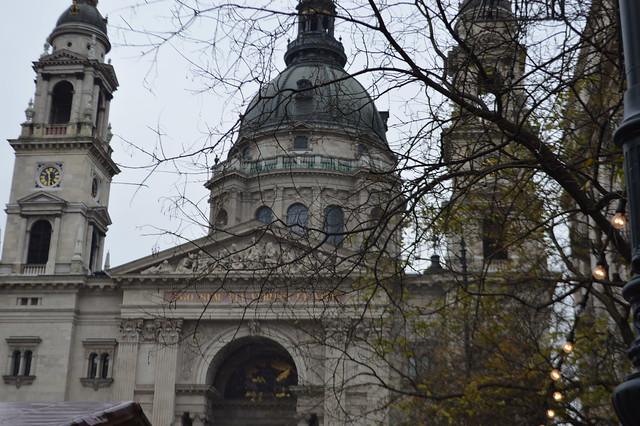 this is a picture of St Stephens Basilica in Budapest