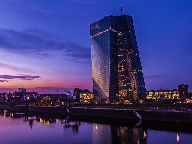Neubau der Europäischen Zentralbank (EZB)