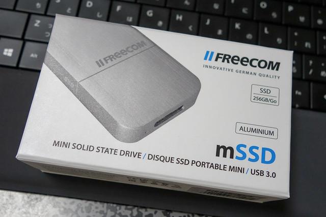 FREECOM mini外付けSSD 256GB USB3.0