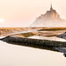 Reveil au Mont Saint-Michel by Guillaume Chanson