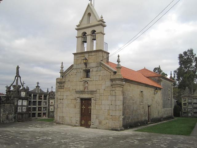 Iglesia de Xunqueiras en Pazos de Borbén