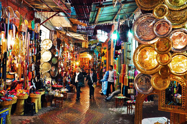 Morocco market-Marrakech2