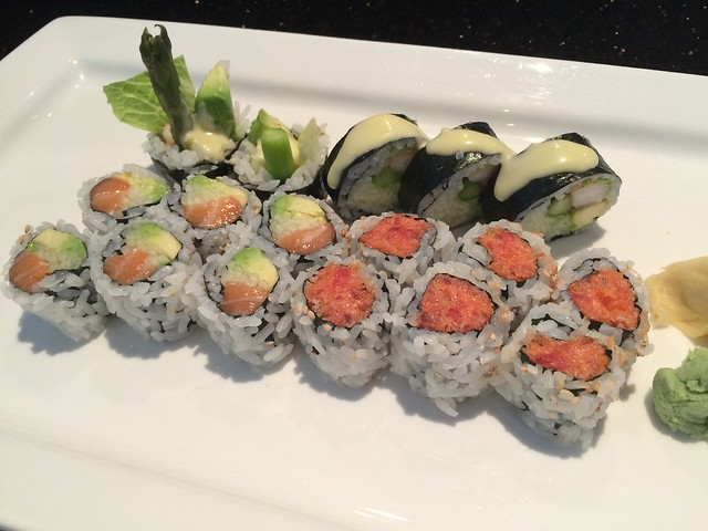 3 rolls lunch special - Passion Fin