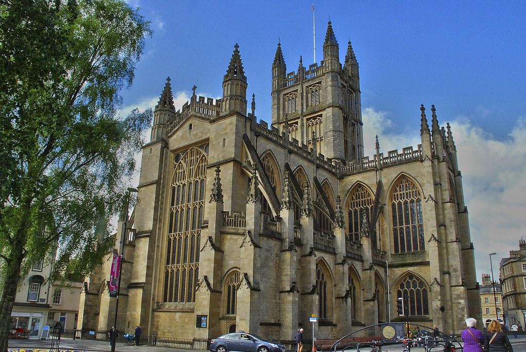 Bath Abbey. Abadía de Bath