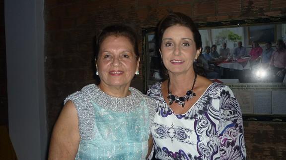 Eunice Corrêa e Lívia Corrêa