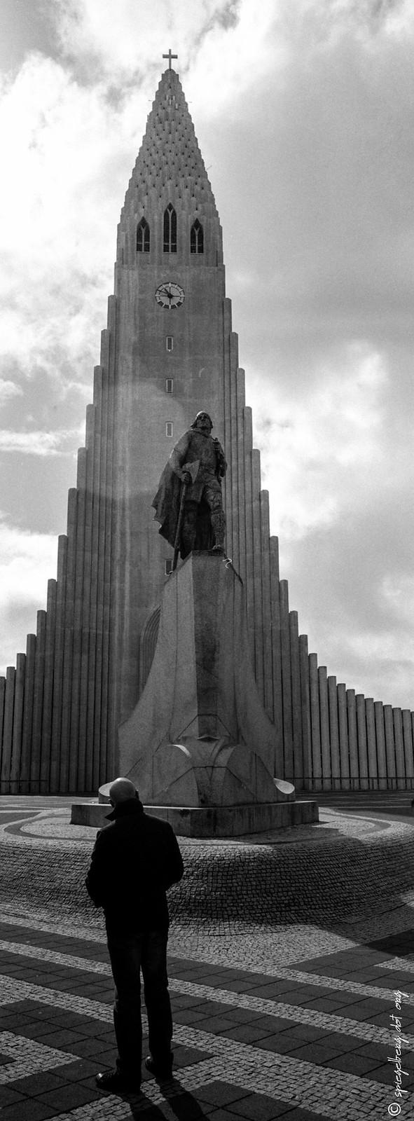Hallgrímskirkja víðmynd