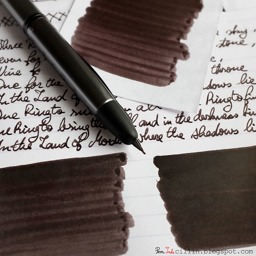 Noodler's Whaleman's Sepia shading